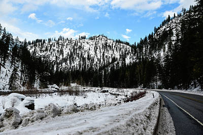 Photograph - No Snow On The Highway by Tom Cochran