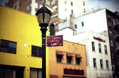 Photograph - No Standing Anytime by John Rizzuto