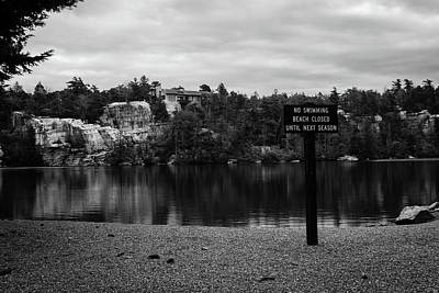 Photograph - No Swimming by Jeff Severson