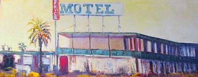 Painting - No Tell Motel by Kathleen Strukoff
