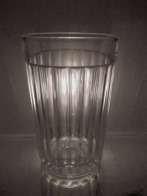 Faceted Glass Art Print by Inna Podolska