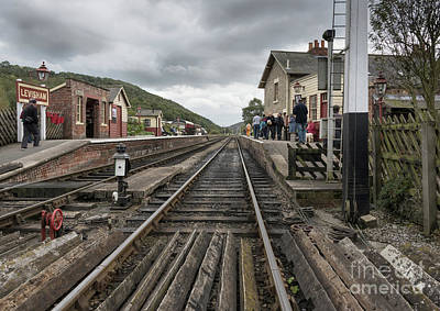 Photograph - No Trains Today by David  Hollingworth