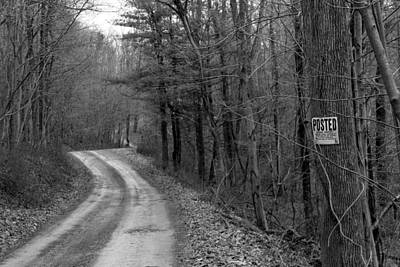 Photograph - No Trespassing by Liz Allyn