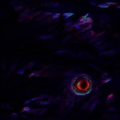 Psychological Digital Art - No Turning Back by Rachel Christine Nowicki