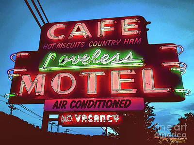 Photograph - No Vacancy At The Loveless by Eleanor Abramson