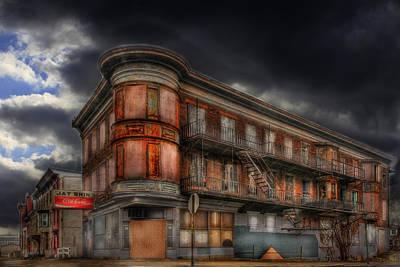Scary Digital Art - No Vacancy by Shelley Neff