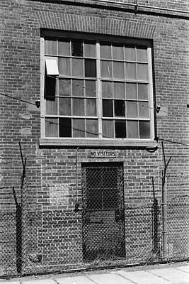 Photograph - No Visitors by Michael Howard