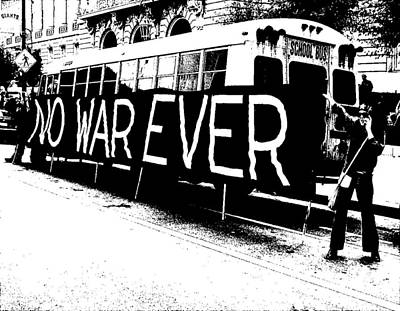 No War Ever Art Print by Mark Stevenson