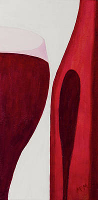 Painting - No Wine Beforeit's Time by Garry McMichael