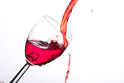 No Wine Was Harmed During The Making Of This Image Art Print
