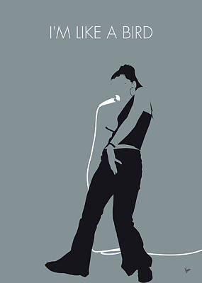 Digital Art - No077 My Nelly Furtado Minimal Music Poster by Chungkong Art
