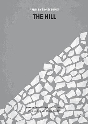 Sean Digital Art - No091 My The Hill Minimal Movie Poster by Chungkong Art