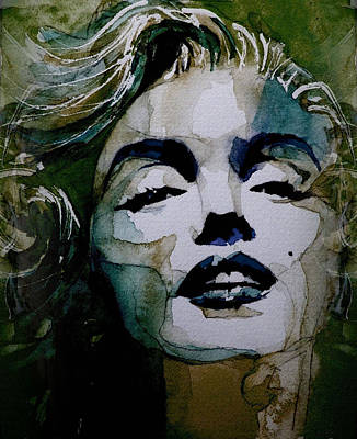 Blonde Painting - No10 Larger Marilyn  by Paul Lovering