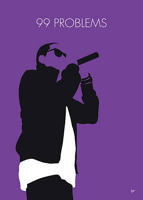 Jay Z Wall Art - Digital Art - No101 My Jay-z Minimal Music Poster by Chungkong Art