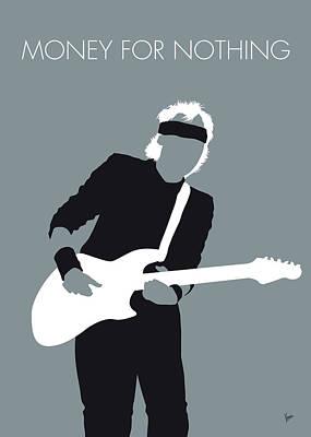 No107 My Mark Knopfler Minimal Music Poster Art Print