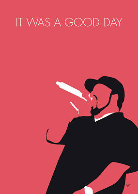 No132 My Ice Cube Minimal Music Poster Art Print