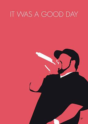Rhythm And Blues Digital Art - No132 My Ice Cube Minimal Music Poster by Chungkong Art