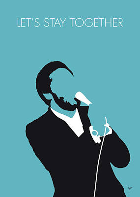 Rhythm And Blues Digital Art - No135 My Al Green Minimal Music Poster by Chungkong Art