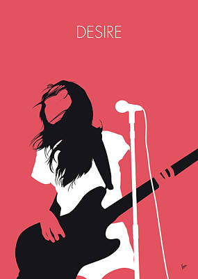 Digital Art - No142 My Meg Myer Minimal Music Poster by Chungkong Art