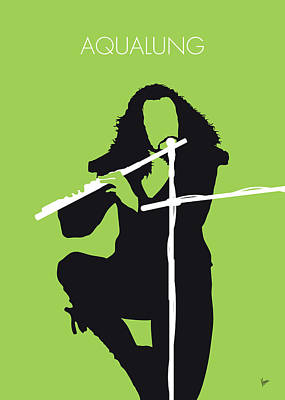 Digital Art - No146 My Ian Anderson Minimal Music Poster by Chungkong Art