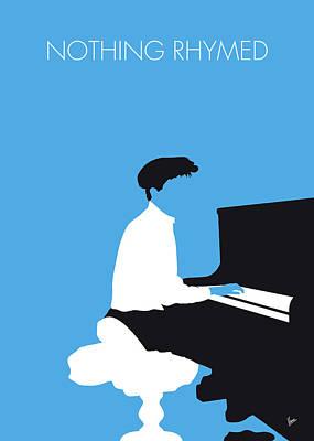 Digital Art - No149 My Gilbert Osullivan Minimal Music Poster by Chungkong Art