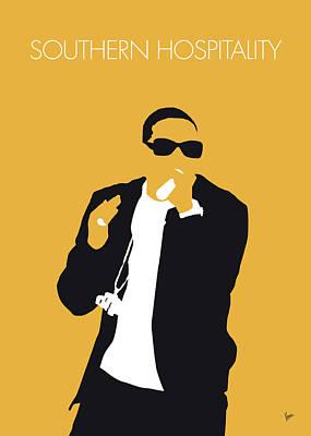 Digital Art - No154 My Ludacris Minimal Music Poster by Chungkong Art