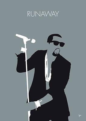 Kanye West Digital Art - No157 My Kanye West Minimal Music Poster by Chungkong Art