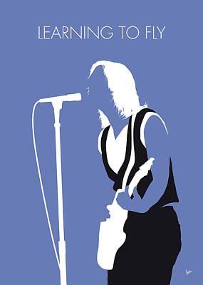 Learning Digital Art - No178 My Tom Petty Minimal Music Poster by Chungkong Art