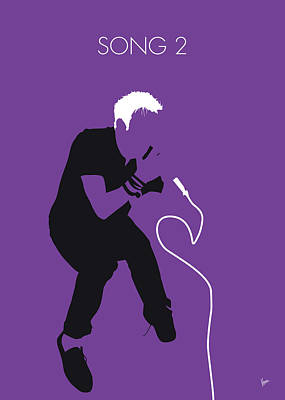 Digital Art - No191 My Blur Minimal Music Poster by Chungkong Art