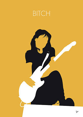 Digital Art - No194 My Meredith Brooks Minimal Music Poster by Chungkong Art