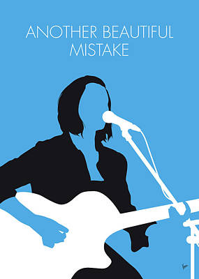 Digital Art - No199 My Hannah Trigwell Minimal Music Poster by Chungkong Art