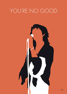Digital Art - No203 My Linda Ronstadt Minimal Music Poster by Chungkong Art