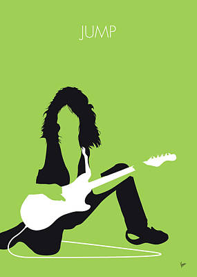 Digital Art - No206 My Vanhalen Minimal Music Poster by Chungkong Art