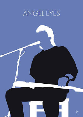 Digital Art - No208 My Jeff Healey Minimal Music Poster by Chungkong Art