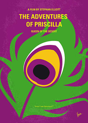Queen Digital Art - No498 My Priscilla Queen Of The Desert Minimal Movie Poster by Chungkong Art