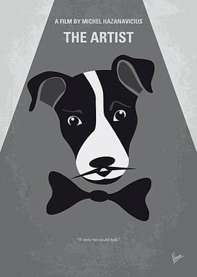 Miller Digital Art - No609 My The Artist Minimal Movie Poster by Chungkong Art