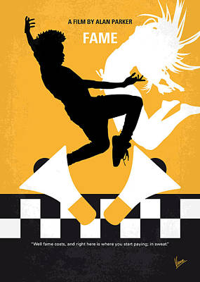New York Digital Art - No619 My Fame Minimal Movie Poster by Chungkong Art