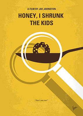 No641 My Honey I Shrunk The Kids Minimal Movie Poster Art Print by Chungkong Art