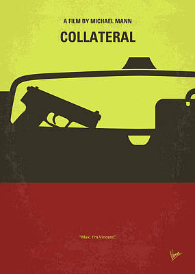 No691 My Collateral Minimal Movie Poster Art Print by Chungkong Art