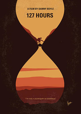 Mountains Digital Art - No719 My 127 Hours Minimal Movie Poster by Chungkong Art