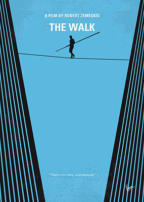Towers Digital Art - No796 My The Walk Minimal Movie Poster by Chungkong Art