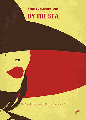 Angelina Digital Art - No805 My By The Sea Minimal Movie Poster by Chungkong Art