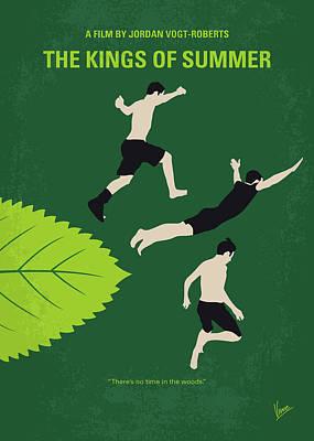 The King Digital Art - No865 My The Kings Of Summer Minimal Movie Poster by Chungkong Art