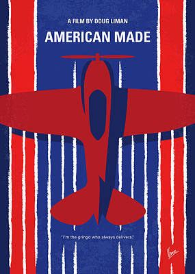 Runner Digital Art - No869 My American Made Minimal Movie Poster by Chungkong Art