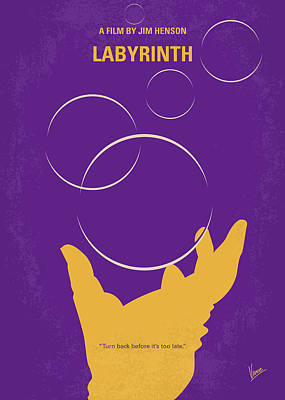 Digital Art - No928 My Labyrinth Minimal Movie Poster by Chungkong Art