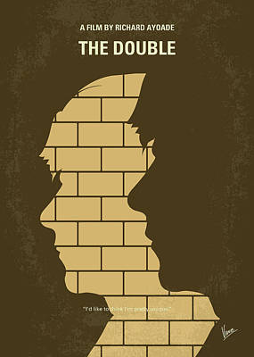 Digital Art - No936 My The Double Minimal Movie Poster by Chungkong Art