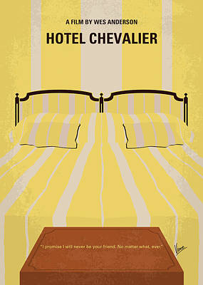 Digital Art - No943 My Hotel Chevalier Minimal Movie Poster by Chungkong Art