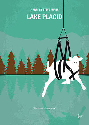 Digital Art - No944 My Lake Placid Minimal Movie Poster by Chungkong Art
