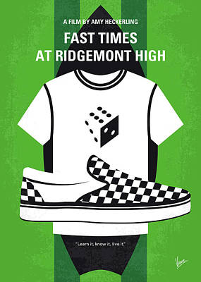 Digital Art - No946 My Fast Times At Ridgemont High Minimal Movie Poster by Chungkong Art