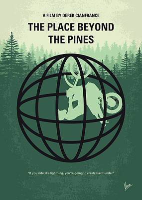 Digital Art - No954 My The Place Beyond The Pines Minimal Movie Poster by Chungkong Art
